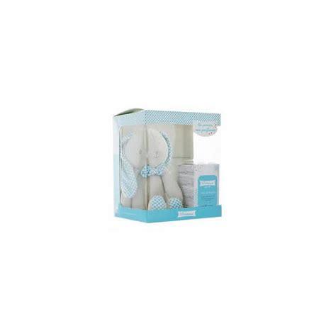 coffret de toilette bebe klorane b 233 b 233 coffret eau de toilette 50ml doudou lapin bleu purepara