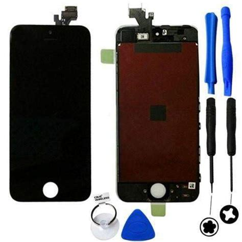 iphone screen replacement kit iphone 5 screen replacement kit digitizer lcd black or 1208