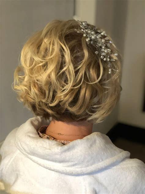 wedding hair styles  short hair wedding