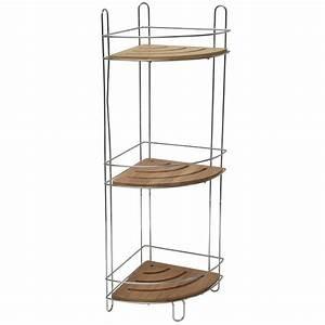 Petite étagère D Angle : etagere d 39 angle 3 niveaux ~ Teatrodelosmanantiales.com Idées de Décoration