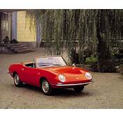 Fiat 850 Spider Designed By Bertone In Production 1964
