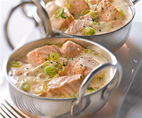 cuisine lotte recette blanquette de saumon recette traditionnelle gourmand