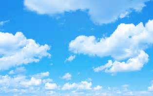 template for a funeral program blue sky background with a tiny clouds qla consulting