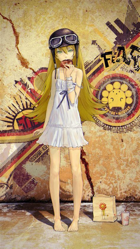 shinobu oshino bakemonogatari  htc  wallpapers