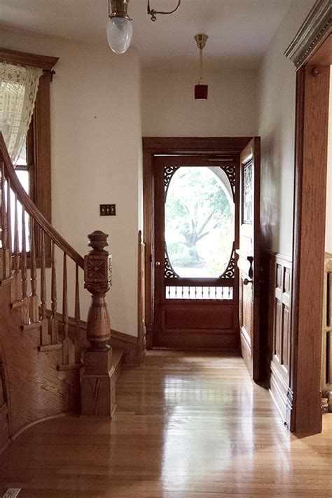 victorian house entryway double parlor  dining room making  lovely
