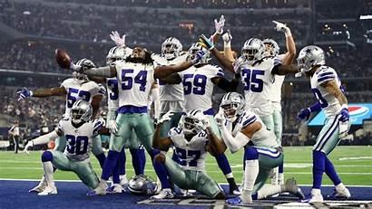 Cowboys Redskins Defense Line Nfl Defensive Looking
