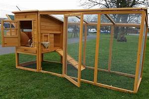 Large Cocoon Chicken Hen House Coop Poultry Ark Run Brand