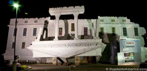 Haunted Attractions In Pa And Nj by Top Secret Upside Down White House Wisconsin Dells