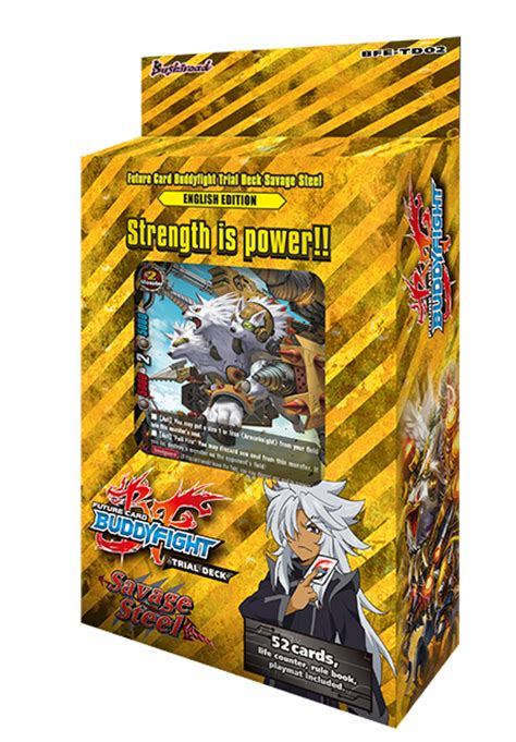 Buddyfight Trial Deck 1 by Future Card Buddyfight Purple Pawn