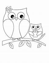 Owl Coloring Pages Printable Pr sketch template