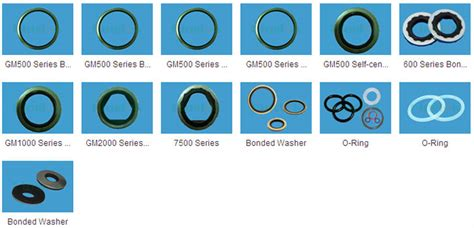 Bonded Seals / Washers,thread Seals,fitting Seals Bonded