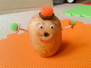 Make Your Very Own Homemade Potato Man Hands On As We Grow