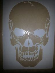 best skull stencil ideas and images on bing find what you ll love