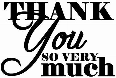 Thank Much Very Clipart Say Quotes Verse