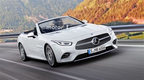 Mercedes Sl 2019 2019 mercedes sl render has us yearning for more