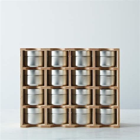 Spice Rack & Tins With Erasable Labels On Food52