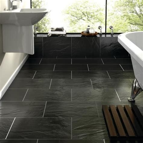 best floors for kitchens 40 black slate bathroom tile ideas and pictures