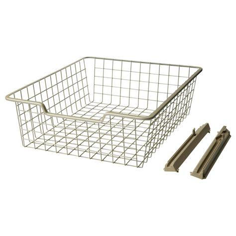 sliding basket drawers ikea sliding wire basket 10 bedroom wire
