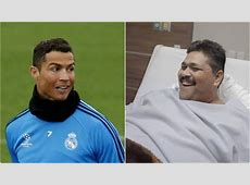 Real Madrid news Cristiano Ronaldo sends world's fattest