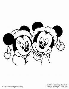 Disney Christmas Coloring Pages | Lucky Magpie and The ...