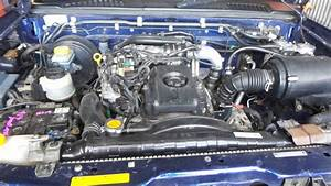 Nissan Navara Engine D22  Diesel  3 0  Zd30  Turbo  12  01