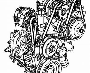 2002 Chevy Cavalier Serpentine Belt Diagram
