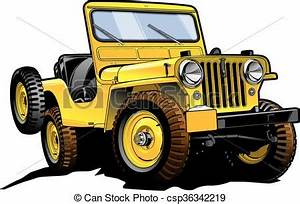 Abstract The Art Of Design Online Español Retro Jeep Really Great Vector Drawing Of Offroad Willy 39 S