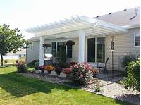 inspiring pergola patio design ideas Inviting Ideas For Pergola Design with Square Shape White ...