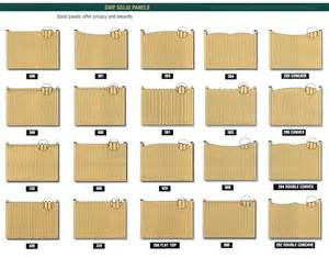 Wood Fence Panels