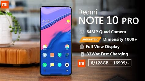 The redmi note 9 pro offers everything that you would expect from a smartphone of its price. Redmi Note 10 Pro: 5G, Price, Spec, Release in India ...