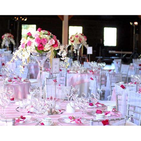 vase martini 70 cm d 233 coration centre de table mariage un jour sp 233 cial