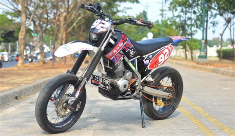 Modification Motor 250 by Motor Trail Kawasaki Klx 250 Modif Impremedia Net