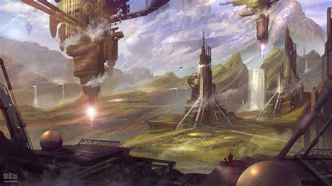 artwork futuristic concept art science fiction