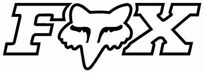 Fox Decal Transfer S64 Vinyl Cut Graphics