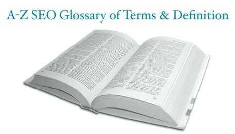 Seo Terms by A Z Glossary Of Seo Terms Definitions Pdf Included