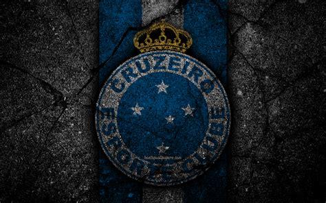 Download wallpapers 4k, Cruzeiro FC, logo, Brazilian Seria ...