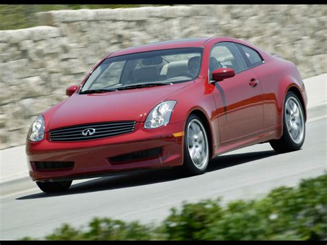 2006 Infiniti G35 Sport Coupe Front And Side Drive Tilt
