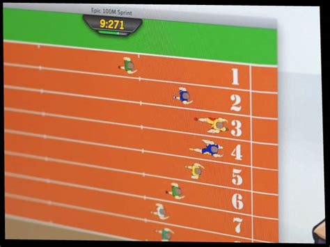 Software And Game Design 100m Sprint By Lee For Epic Works