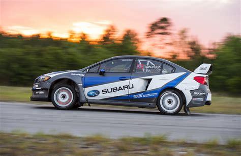 rally subaru subaru rally team usa commits to global rallycross