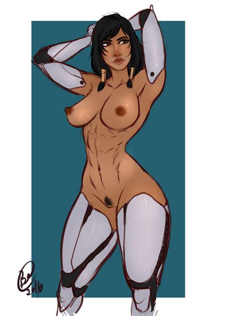 Pharah Overwatch Nude Pinup Pharah Overwatch Hentai