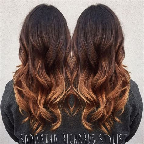 fall balayage ideas  pinterest fall hair
