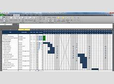3 project plan template excel Ganttchart Template