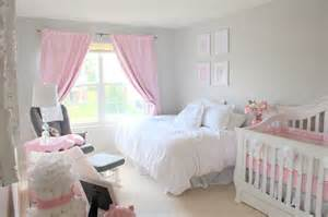 Colored Bedrooms by Elegant Pink Amp Grey Nursery Project Nursery