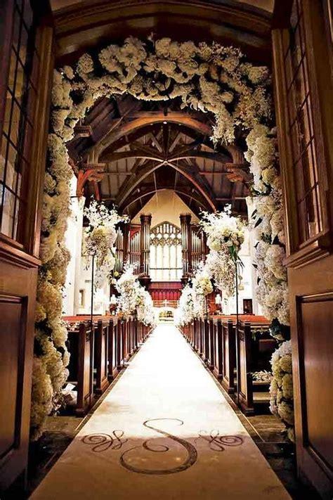 Creative Church Wedding Decorations Church Wedding