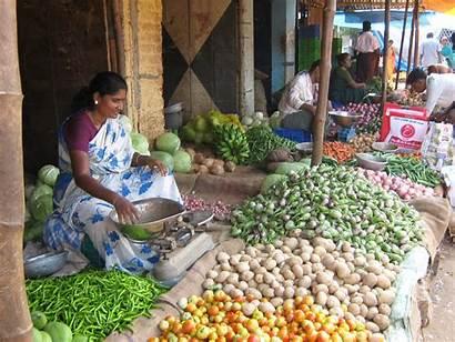 Tamil Vegetable Market Nadu India