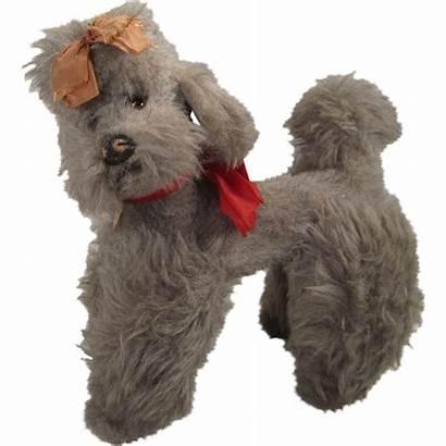Poodle Fao Schwarz Grey Plush Dogs Steiff