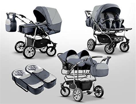 zwillingswagen 3 in 1 zwillingswagen mikado kinderwagen 3 in 1 set wanne buggy babyschale braunb schwarz