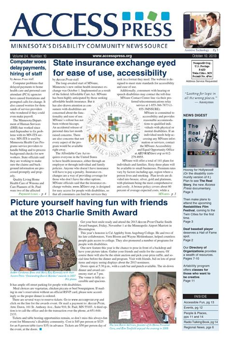 Insurance auto commercial health homeowners life. Ap13 10final by Access Press - Issuu