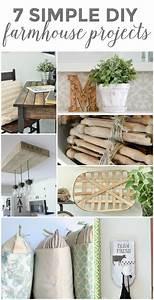 7, Simple, Diy, Farmhouse, Projects