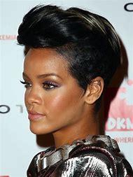 Rihanna Mohawk Hairstyle